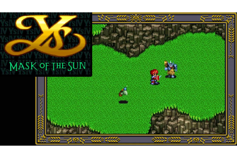 Ys IV: Mask of the Sun ... (SNES) 60fps - YouTube