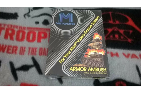 Armor Ambush (Atari 2600) NIB New in Box!!! | eBay