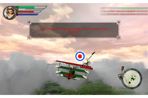 RED BARON ARCADE GAME PLAY - YouTube