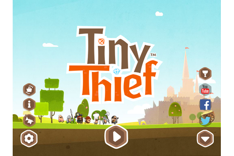 Tiny Thief - mobile games UI/UX design, mobile games ...