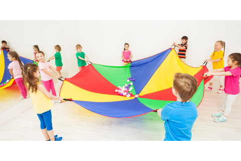 Parachute games | National Army Museum