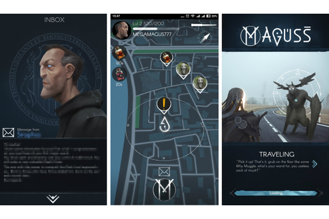 'Maguss,' the game that definitely isn't 'Harry Potter Go'