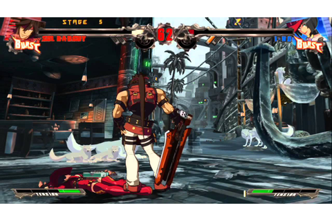 Guilty Gear Xrd ~Sign~ PS3: Sol Arcade Gameplay - YouTube