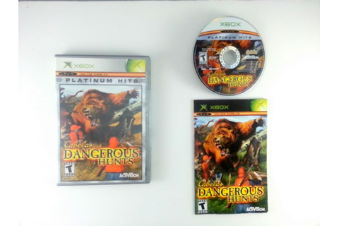 Cabela's Dangerous Hunts game for Xbox (Complete) | The ...