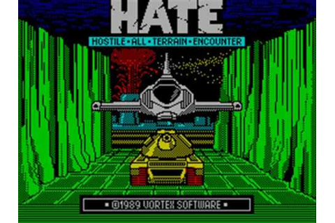 H.A.T.E. Spectrum Title Music - YouTube
