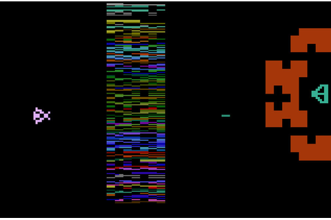 Game review: Atari Yar's Revenge for #Atari 2600