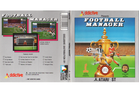 Atari ST Football Manager : scans, dump, download ...