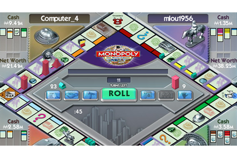 Monopoly Here & Now Free PC Game Download Full Free ...