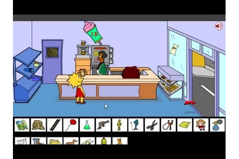 Lisa Simpson Saw Game - Walkthrough - YouTube