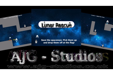 Lunar Rescue Game - YouTube