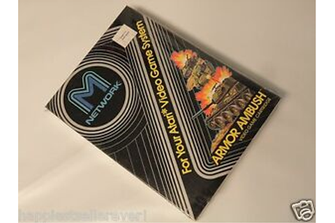 Atari 2600 Armor Ambush NEW SEALED M Network ATARI 2600 ...