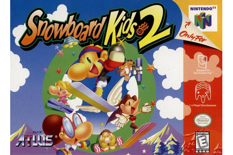 Snowboard Kids 2 Nintendo 64 Game