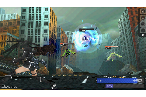 Black Rock Shooter The Game - Download Game PSP PPSSPP ...