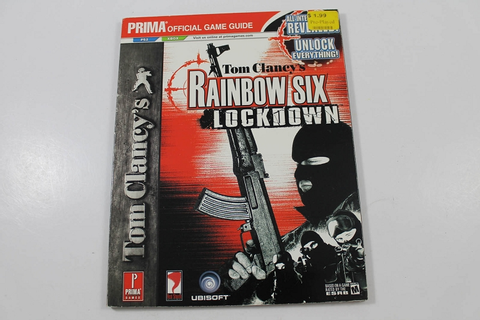 Tom Clancy's Rainbow Six Lockdown Official Game Guide ...
