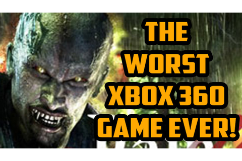 The Worst Xbox 360 Game! (Vampire Rain) - YouTube