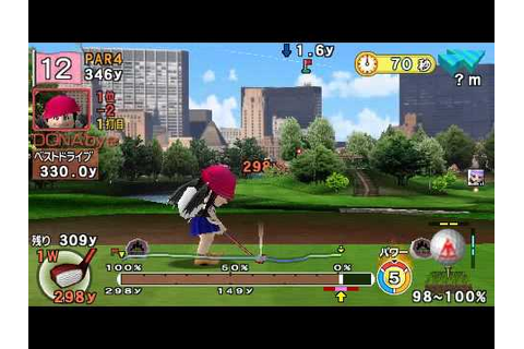 Everybody's Golf Portable 2 for PSP Online Tournament #3(1 ...