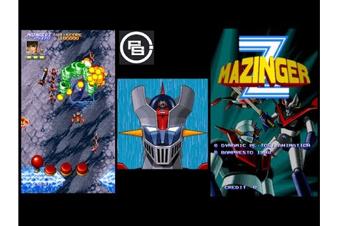Arcade Game Test : Mazinger Z (Goldorak Go !) - YouTube