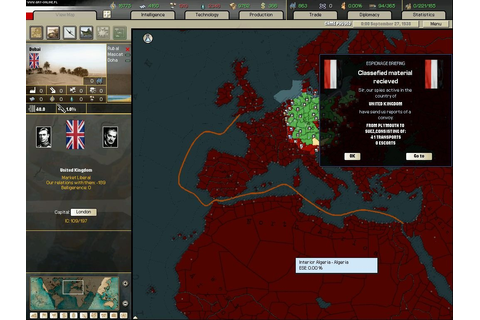 Arsenal of Democracy: A Hearts of Iron Game - screenshots ...