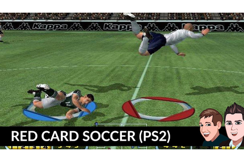 Red Card Soccer (PS2) Gameplay England vs Germany - YouTube