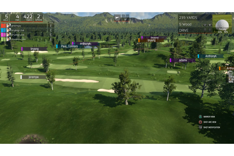 THE GOLF CLUB MULTIPLAYER