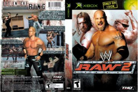 WWE Raw 2 (Xbox) - The Cover Project