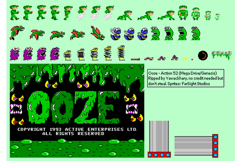 Genesis / 32X / SCD - Action 52 (Bootleg) - Ooze - The ...