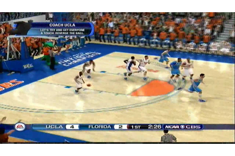 NCAA Basketball 10 Gameplay - UCLA Bruins at FLA Gators ...