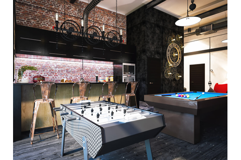 How to Create the Ultimate Game Room | Freshome.com