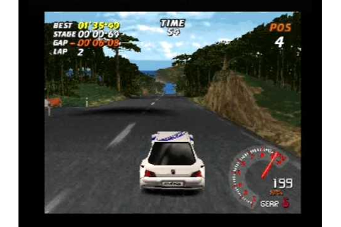 v rally ps1 - YouTube