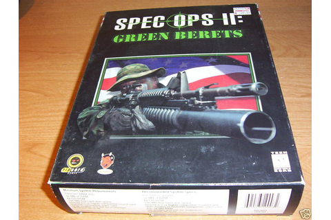 SPEC OPS II 2 TWO GREEN BERETS PC CD ROM GAME BOOK BOX ...