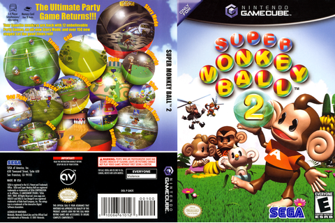 GM2E8P - Super Monkey Ball 2