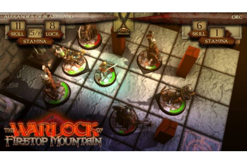 The Warlock Of Firetop Mountain board game coming to Linux ...