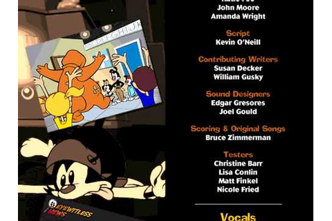 Animaniacs PC Game Pack - Credits - YouTube