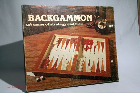 Backgammon Game Lowe 1977 COMPLETE | eBay