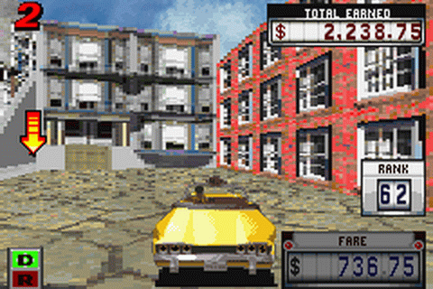 Play Crazy Taxi - Catch a Ride Nintendo Game Boy Advance ...