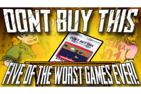 Don't Buy This: Five of the Worst Games Ever (ZX Spectrum ...