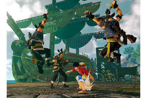 Le jeu One Piece World Seeker, en Gameplay Vidéo Taipei ...