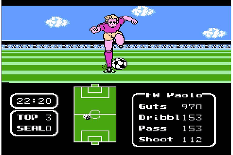 Tecmo Cup Soccer Game - Clave Especial - YouTube