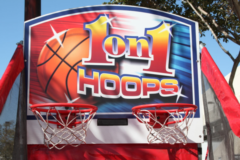 One-on-One Basketball Challenge Game - Over 21 Party Rentals