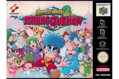 Mystical Ninja Starring Goemon 2 - Underworld Castle ...