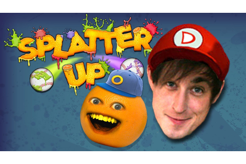 Annoying Orange Splatter Up w/ DANEBOE! - YouTube