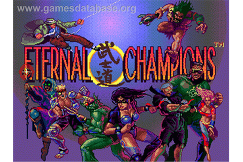 Eternal Champions - Sega Genesis - Games Database