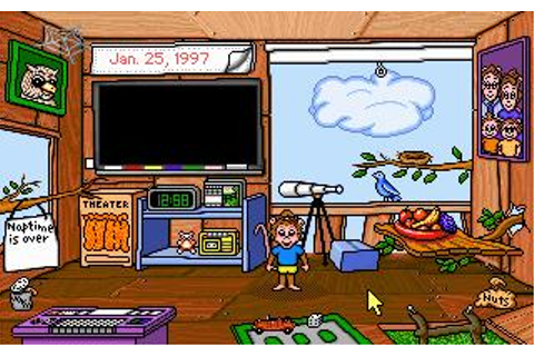 Treehouse, The Download (1991 Educational Game)