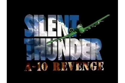 Silent Thunder: A-10 Tank Killer II - Early Video game ...