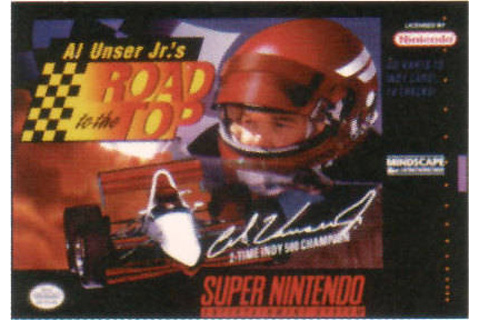 Retro Game Guide - SNES - Al Unser Jr.'s Road to the Top
