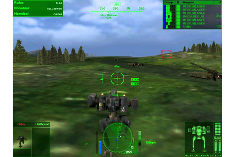 MechWarrior 4 Mercenaries - Gameplay - YouTube