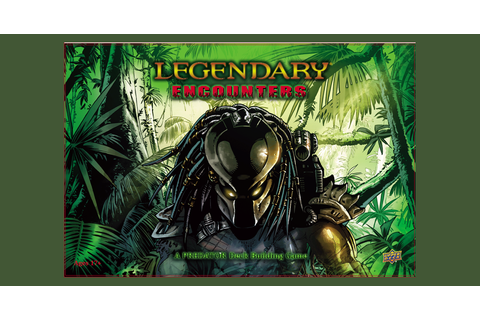 Legendary Encounters: A Predator Deck Building Game ...