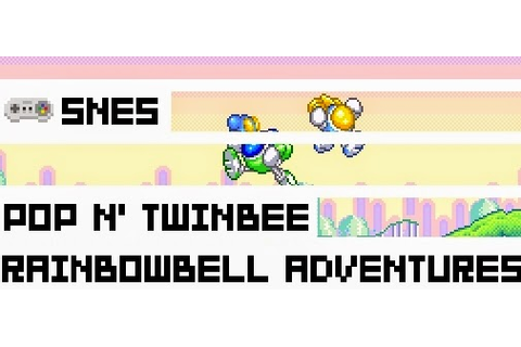 Boxed Pixels: Snes Review - Pop N' Twinbee Rainbow Bell ...