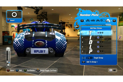 Mod Nation Racers PS3 Kart creation NEW GAME - YouTube