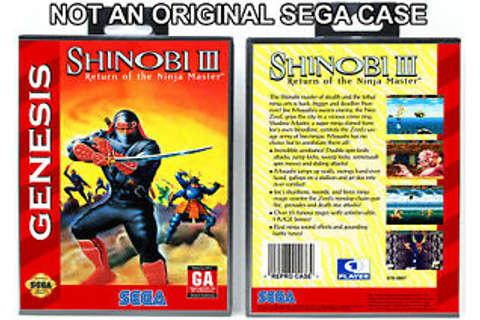 Shinobi III: Return of the Ninja Master - Sega Genesis ...